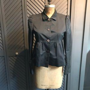 Hugo Boss satin peplum jacket